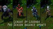 League of Legends preseason balance update