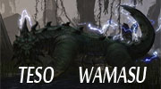 Trailer of The Elder Scrolls Online reptile Wamasu