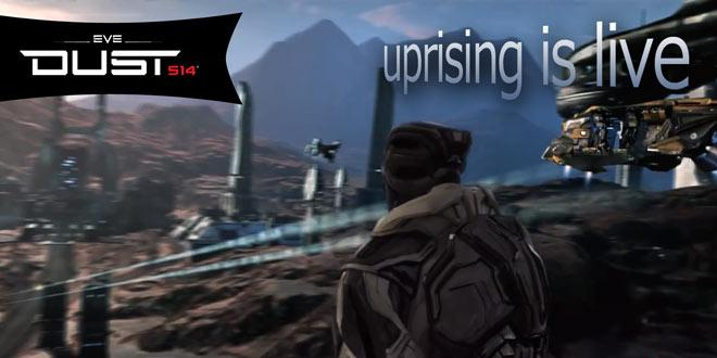 Dust 514: Uprising has just launched