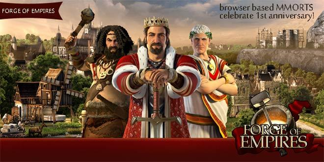 Forge of Empires celebrate 1st year