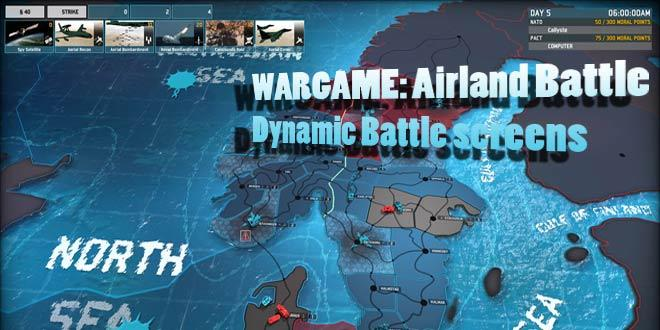 Wargame Airland Battle: Dynamic Strategy!