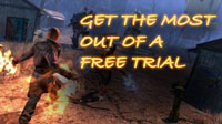 Get the most out of free MMO trials