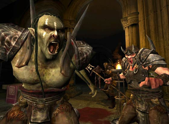Lord of the Rings Online Games and Orcs