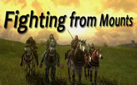 MMORPGs you can fight on mounts