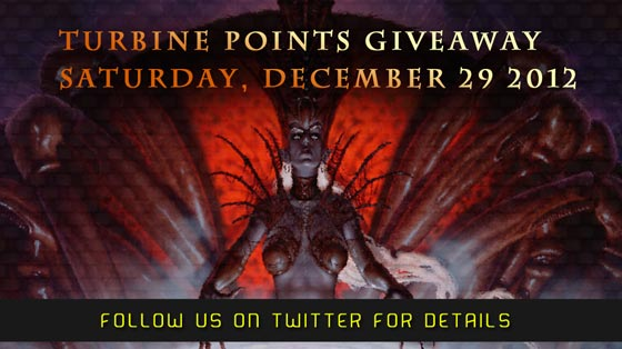 Dungeons & Dragons Online - Free Turbine Points