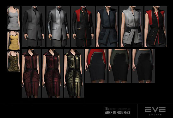 Eve Online new clothes