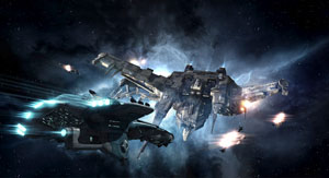 Bounty Hunting in Eve Online Retribution