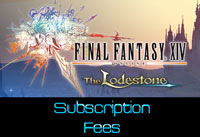 Final Fantasy 14 subscription fees