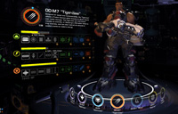 Tiger Claw battleframe in Firefall