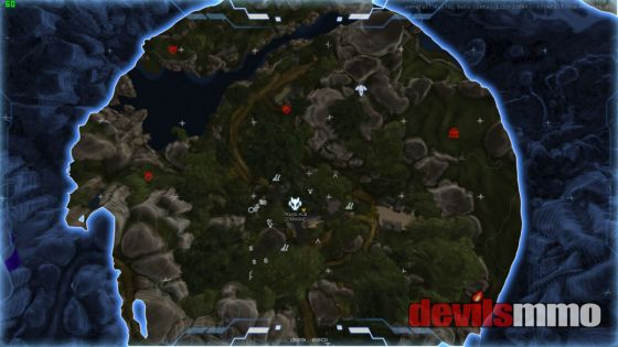 Firefall map