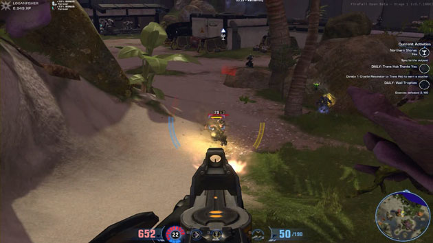 Firefall battle with Tigerclaw