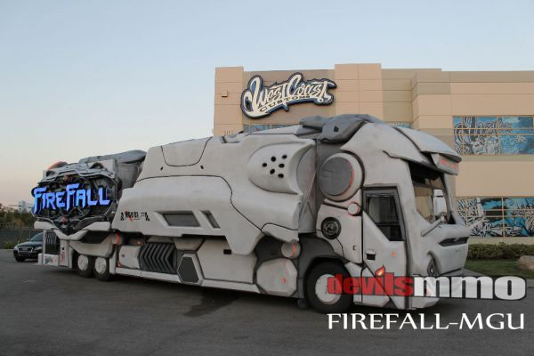 Firefall's new gaming unit