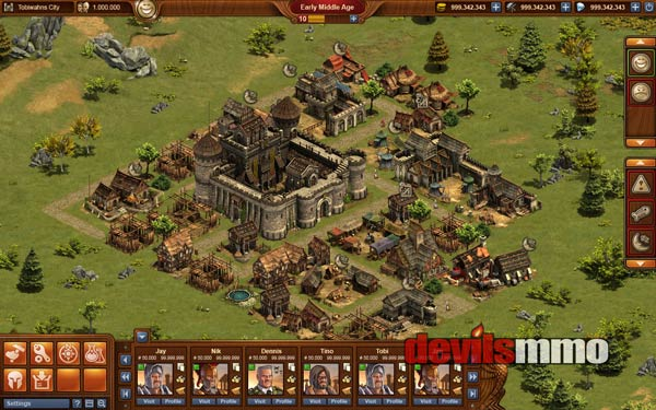 Strategy Online Game