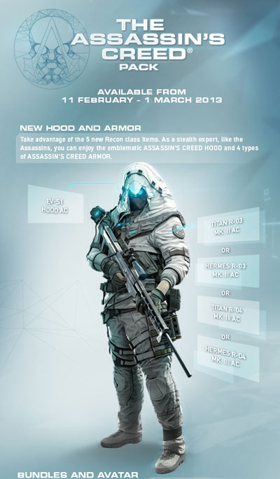 Ghost Recon Online's Assassin's Creed Pack