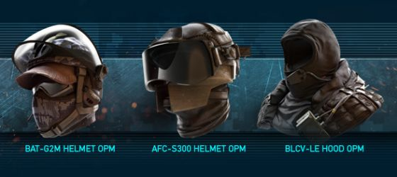 Ghost Recon Online omega helmets