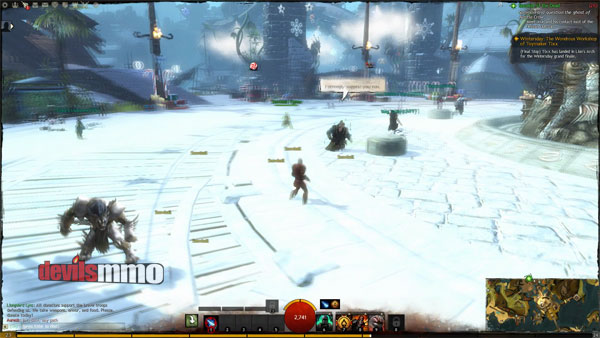 Wintersday Events Caused Lag in Guild Wars 2