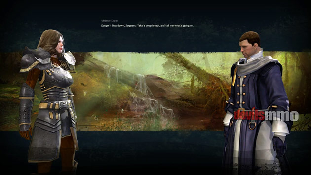 Guild Wars 2 Diary - Renegades Screenshot from Cutscene