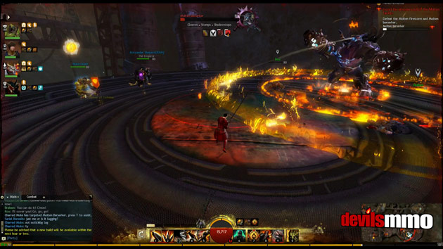 Guild Wars 2 Flame and Frost Retribution boss