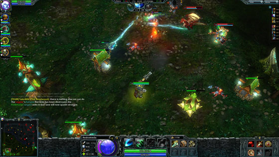 Heroes of Newerth MMO Review 2012