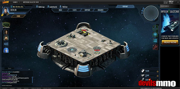 Imperium Galactic War the new Sci Fi Strategy MMO game