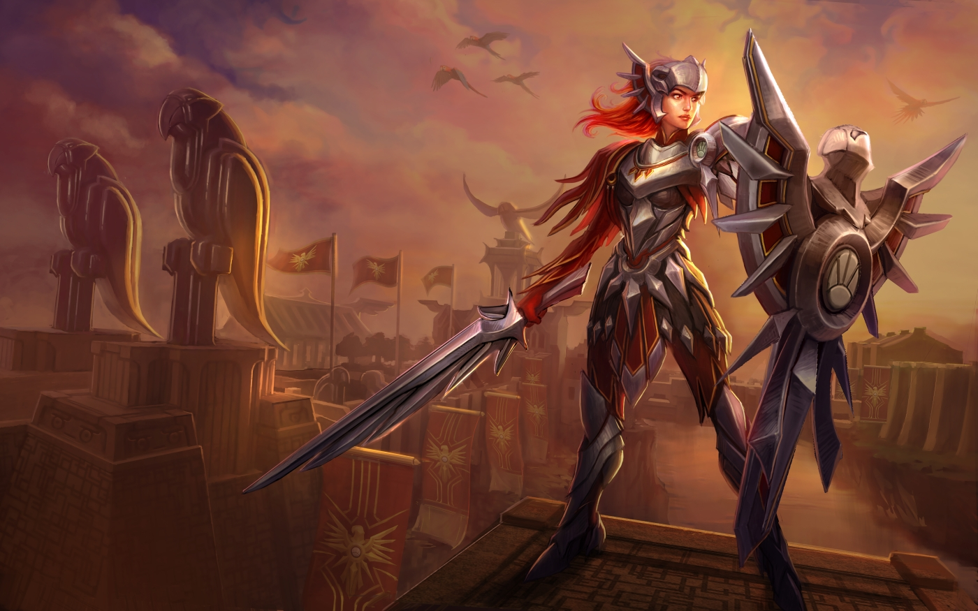 LoL New skin for champion Leona & new Nautilus screenshots