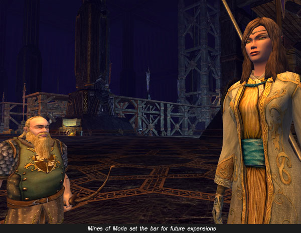 Mines of Moria expansion of Lord of the Rings Online