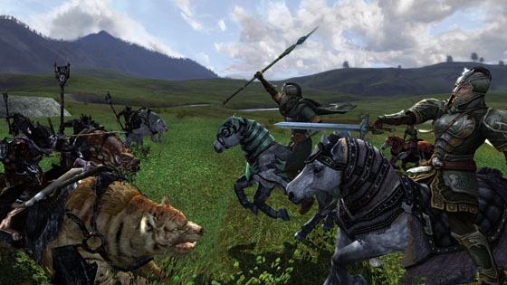 Mounted Combat in LotRO
