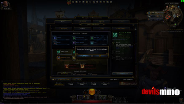 Neverwinter Power Choice System 2