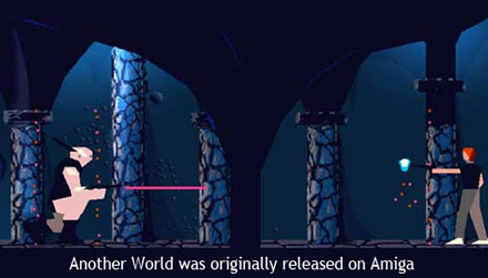 Another World is in MoMA's selection of 14 video games