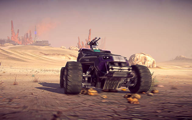 Blue Star Blade Reviews >> Planetside 2 Vehicles - Harasser Buggy Trailer and Screenshots