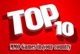 Check out what MMOs gamers are playing in your country