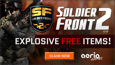 Soldier front 2 beta blaster package