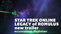 Star Trek Online Legacy of Romulus trailer