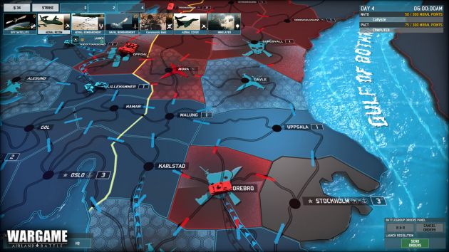Dynamic Battle in Wargame Airland