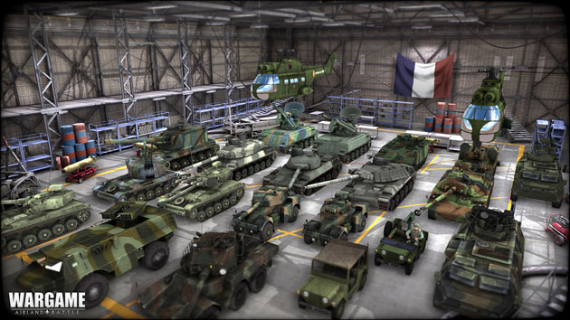 Wargame Airland Battle units