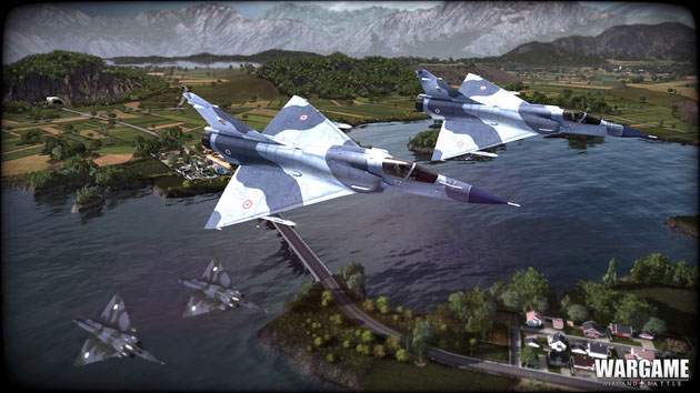 Wargame Airland Battle aircrafts