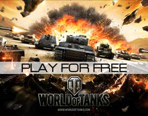 Play World of Tanks for free