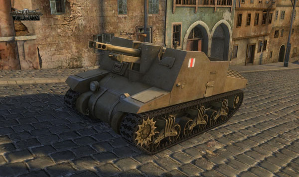 World of Tanks Sexton