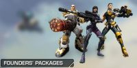 Firefall Founders Packages on sale