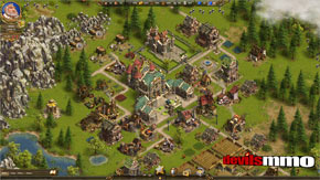 The Settlers Online screenshot 1